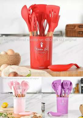 Spatula set silicone 12in1