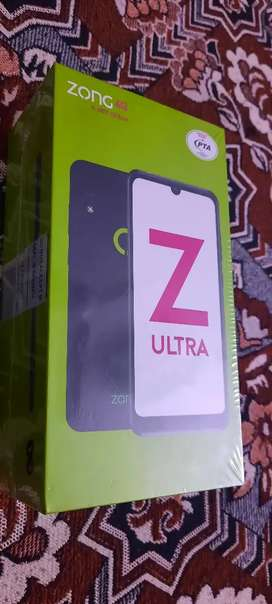Zong Z ULTRA New Box Packed 4G Mobile with 6 month 1000/Month package