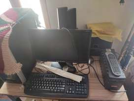 Computer in good condition 500gb hardisk 2 gb ram