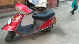 TVS Scooty is in good condition.