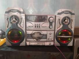TQxi 2030RDL 3 band equaliser Nd FM radio S and cassette player record