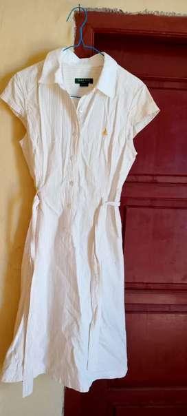 Baju dress merek bean polo..
