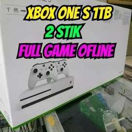 xbox one s mesin baru 1 tb freee 20 game