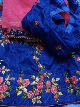 Lehenga choli and dupatta for party wear