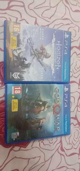PS4 games CD
