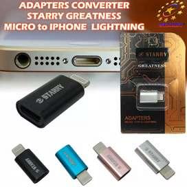 Konektor cas micro usb ke Iphone