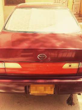 Toyota Corolla XE Indus every think is perfect and working.