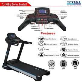 treadmill elektrik mojokerto fitness tl-199 / treadmil total tl 199