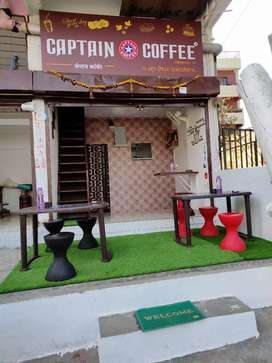All furniture in caffe  2months age