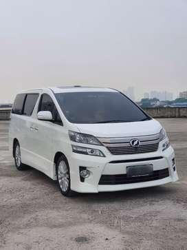 Toyota VELLFIRE 2013 ZG Premium Sound