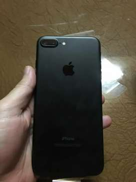 iPhone 7 Plus Red 128gb Black Colour With Bill Box.