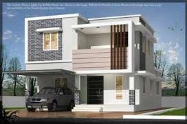 3BHK House For Sale In Palakkad, Very Close to Kallekkad