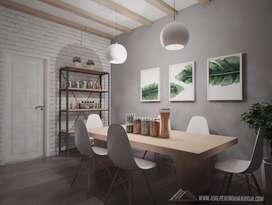 Jasa Desain Gambar Arsitek 2D/3D Rumah Tinggal/Interior design Murah
