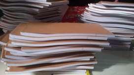 Nota, invoice, brosur, map kantor