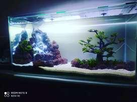 Aquarium air terjun