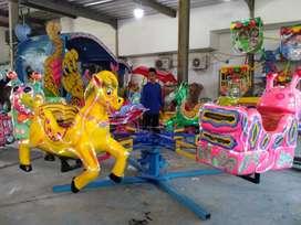 mainan kereta komedi putar lantai animal odong pasar malam SW2 KOMPLIT