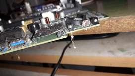Laptop motherboard repairs