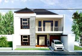 Desain rumah dan hitung RAB