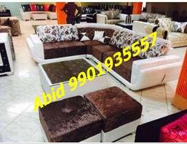 top quality design l shape corner sofa set 3 year warranty mm 1166