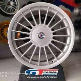 Velg Alpina ring 18x8.0 h8x100/114.3 et40 kijang lgx Avanza Xenia