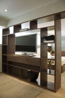 Pembatas/penyekat ruangan,kitchen set,back drop tv dll