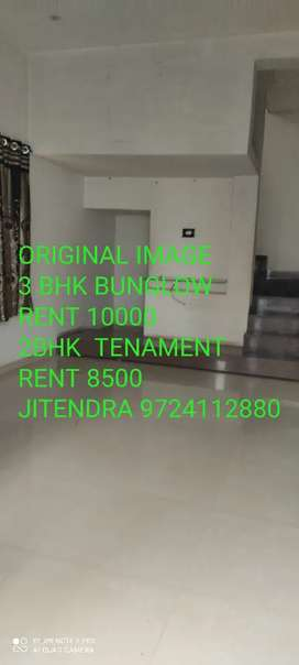 3 BHK BUNGLOW NEWLY