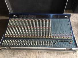 mixer monitor tac scorpion 30 ch uk