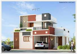 4 bhk New independent House - 2500sq.ft
