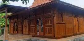 Rumah Joglo Gebyok Ukir  Tumpangsari Ukir Bahan Kayu Jati