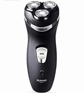 RUNWE MuteShave Electric, Men's Cordless Rechargeable Rotary Shaver