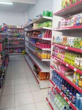 Rak Minimarket, Toko, Warung, Rak Besi Ekonomis