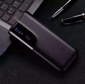 TrustFire Smart Power Bank LCD Display 3 USB Port 20000mAh - Black