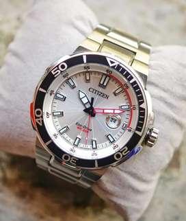 jam tangan sporty Citizen Ecodrive ref AW1420-63A