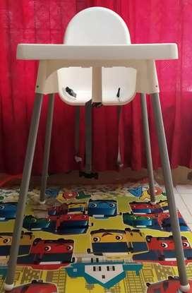 Ikea Antilop Kursi Makan Bayi with Safety Belt