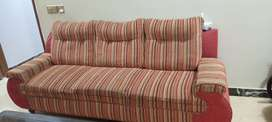 Two sofa set one 7 seater 2nd 5 seater