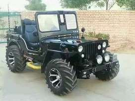 Full modified Open Jeep ready your booking to All