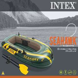 Intex Seahawk Inflatable Boat Set - 2 Person lucky shop