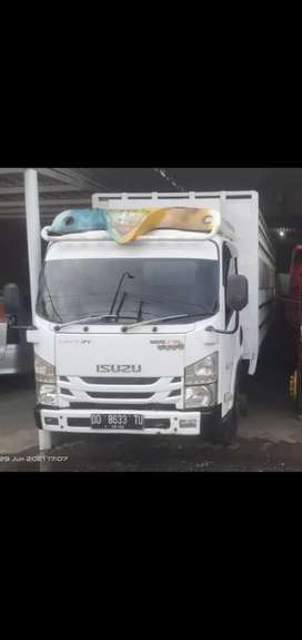 Mobil truck Isuzu Nmr 71 THN 2017 long chasis