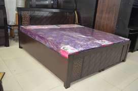 Double bed with storage brand new king size 6fit by 6fit