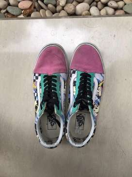 VANS 80s dinsey mickey mouse edition