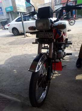 Bike for sale   in  Bhalwal liaqat shaheed Rode