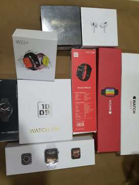 Smart watches, Airpods pro, bluetooth with warranty