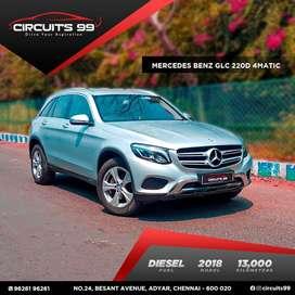 Mercedes-Benz Glc, 2018, Diesel