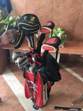 Taylormade and Nike Graphite Golf clubs