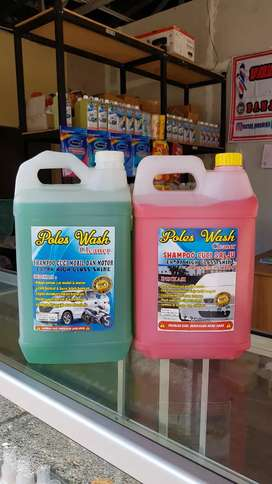 Shampoo/Sabun Cuci Mobil & Motor Efek Kinclong, Mengkilap & Ekonomis