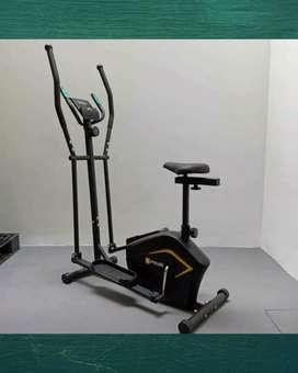 Alat fitnes murah sepeda eliptical bisa kirim kerumah