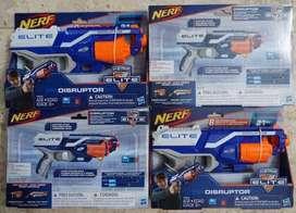 Nerf Elite Disruptor atau strongarm versi 2 toys pistol mainan