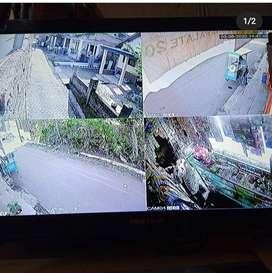 sistem keamanan masa kini paket CCTV Dahua 2 CH
