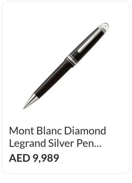 Mont Blanc with diamond