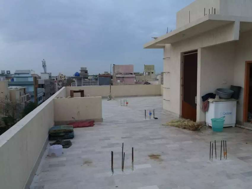 Roof with marble floor for sale urgently 0